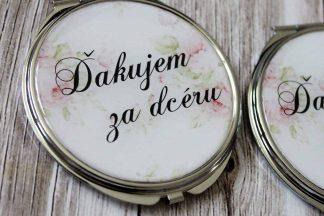 zrkadielko pre svadobnu maminku