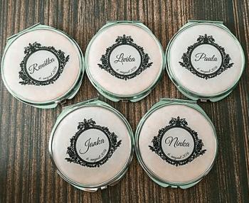 darčeky pre druzicky rucne robene zrkadielka