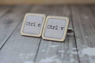 manžetové gombíky pre milovníka IT