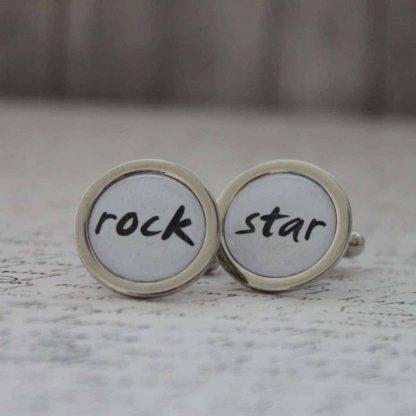 manžetové gombíky pre vašu rock star