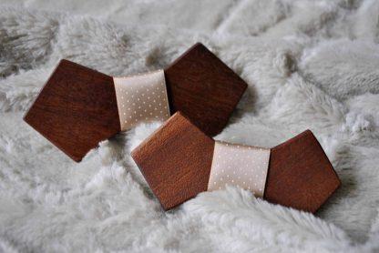 dreveny motylik rucna praca